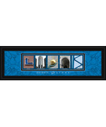 Detroit Lions Officially Licensed Framed Letter Art - $39.95