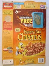 Cereal Box 2000 Honey Nut Cheerios DINOSAUR Chomping Magnet ALADAR 20 oz - $28.80