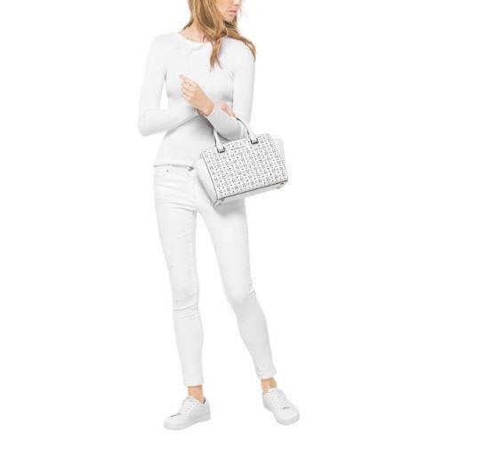 New Michael Michael Kors Women Selma Medium Satchel Bag Variety Colors