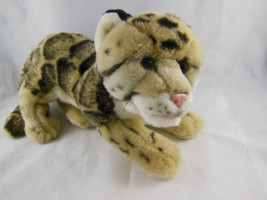 """Webkinz Ganz Endangered Clouded Leopard Plush Cat Stuffed NO CODE 12"""" + ... - $16.57"""