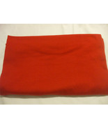 1 X  Red Fabric  100% cotton  58 Inches X 35 Inches Crafts Sewing - $8.16