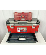 """Large Keter 17181010 Master Pro Series Tool Box 26"""" w/ Tray & Removable Box - $29.70"""