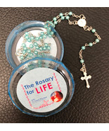 The Rosary for Life Rosary Beads - Blue - $13.95