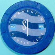 $1 Casino Chip. Norwegian Cruise Line. T86. - $4.29