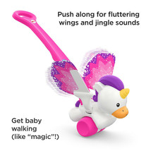 Fisher-Price Push and Flutter Unicorn - $42.36