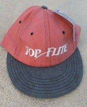 Top Flite Golf Adjustable Baseball Cap Hat New w/Tags Red/Grey FREE SHIP... - $8.68