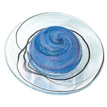 Glass Eye Studio Rings of Saturn Blown Glass Paperweight - $152.99