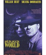 UNTIL THE END OF THE WORLD WIM WENDERS -William Hurt - NEW AND   SEALED DVD - $19.90
