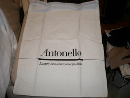 "Antonello White Dust Bag Large 16"" X 20"" - $10.88"