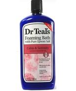 1 Count Dr. Teals Pure Epsom Salt Rose Essential Oil Calm Foaming Bath 3... - $24.99