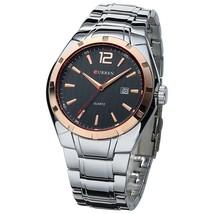 CURREN Fashion Business  Watch Display Date Full Steel  Waterproof Wristwatch Ho - $39.35