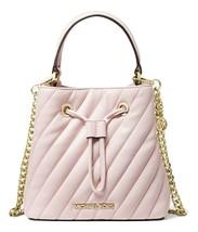 MICHAEL MICHAEL KORS Suri Small Quilted Crossbody Bag Powder Blush MSRP:... - $158.39