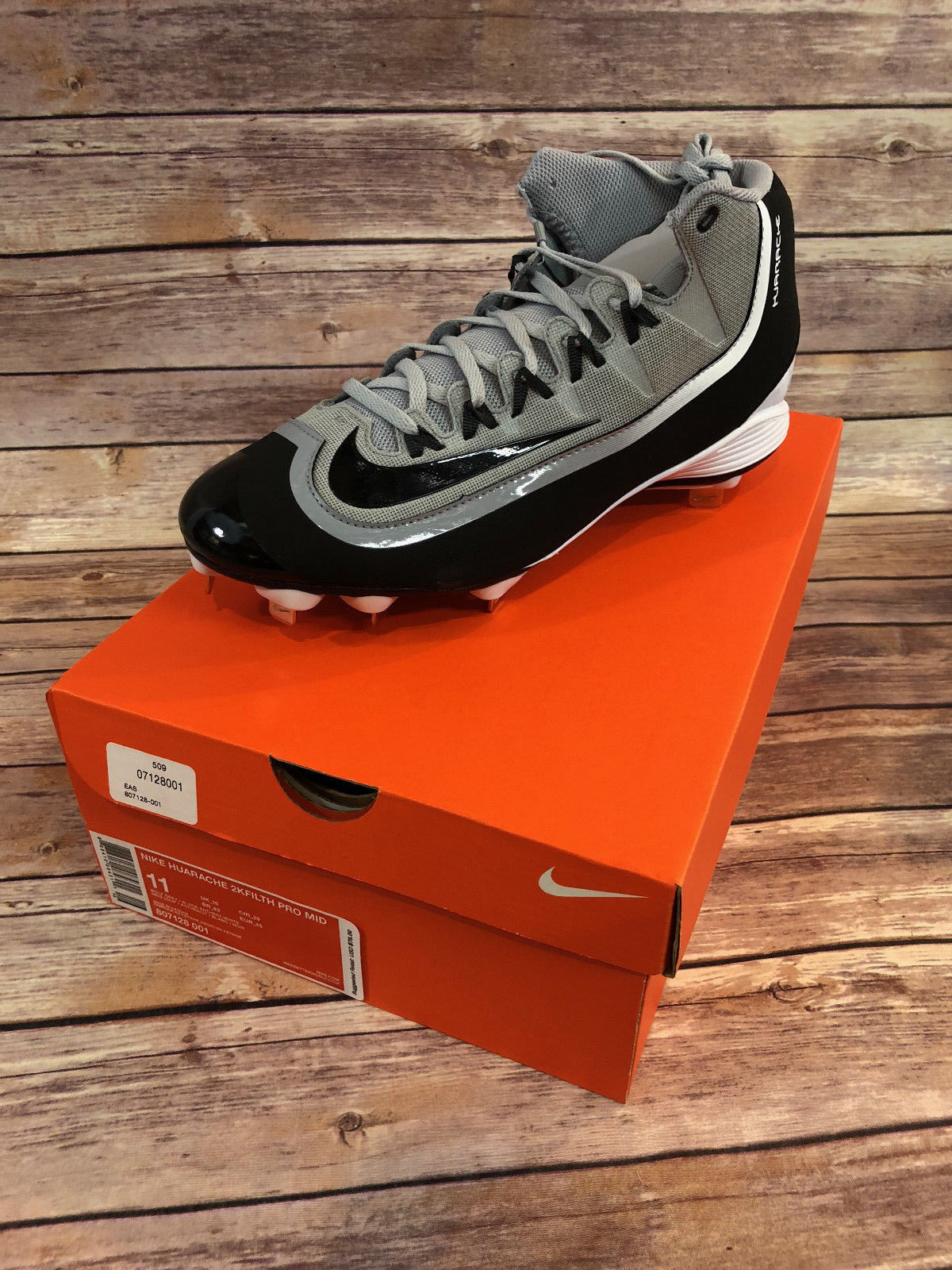 promo code af560 3afc7 Nike Huarache 2KFilth Pro Baseball Cleats and 11 similar items. 57