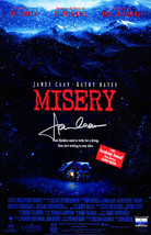 "James Caan Signed ""Misery"" 11x17 Movie Poster - $200.00"