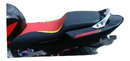 Honda CBR 600 F4i 04/06 Tri Motorcycle Seat Cover AS Red AS Yellow AS Black - $80.00