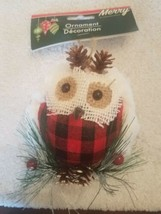 Owl Christmas Tree Ornament upc 639277581174 - $25.69