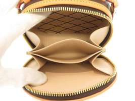 LOUIS VUITTON Mini Boite Chapeau Shoulder Bag Monogram M44699 3Way Bag Authentic image 7
