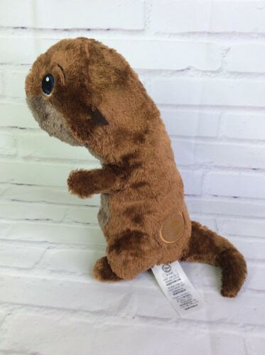 Disney Store Finding Dory Patch the Sea Otter Plush Stuffed Animal 10in Toy Nemo