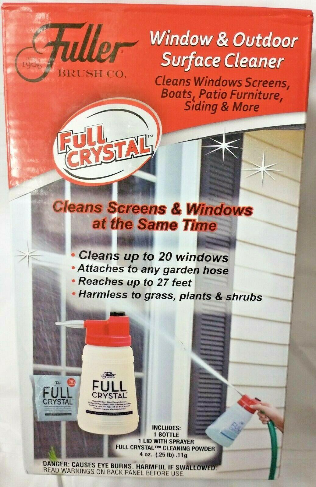Fuller Brush Co. Full Crystal Full Exterior Cleaner Starter Kit 4oz New A5 - $19.75