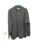 Vintage men's Patagonia white label gray long sleeve sweater SZ L - $61.70