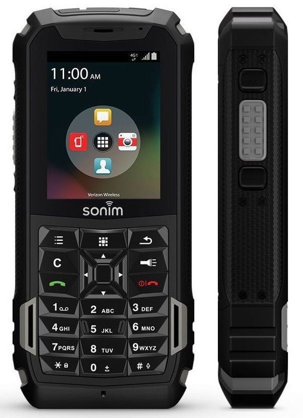 Sonim XP5 4G LTE (GSM UNLOCKED) Rugged Waterproof Military XP5700 | Black