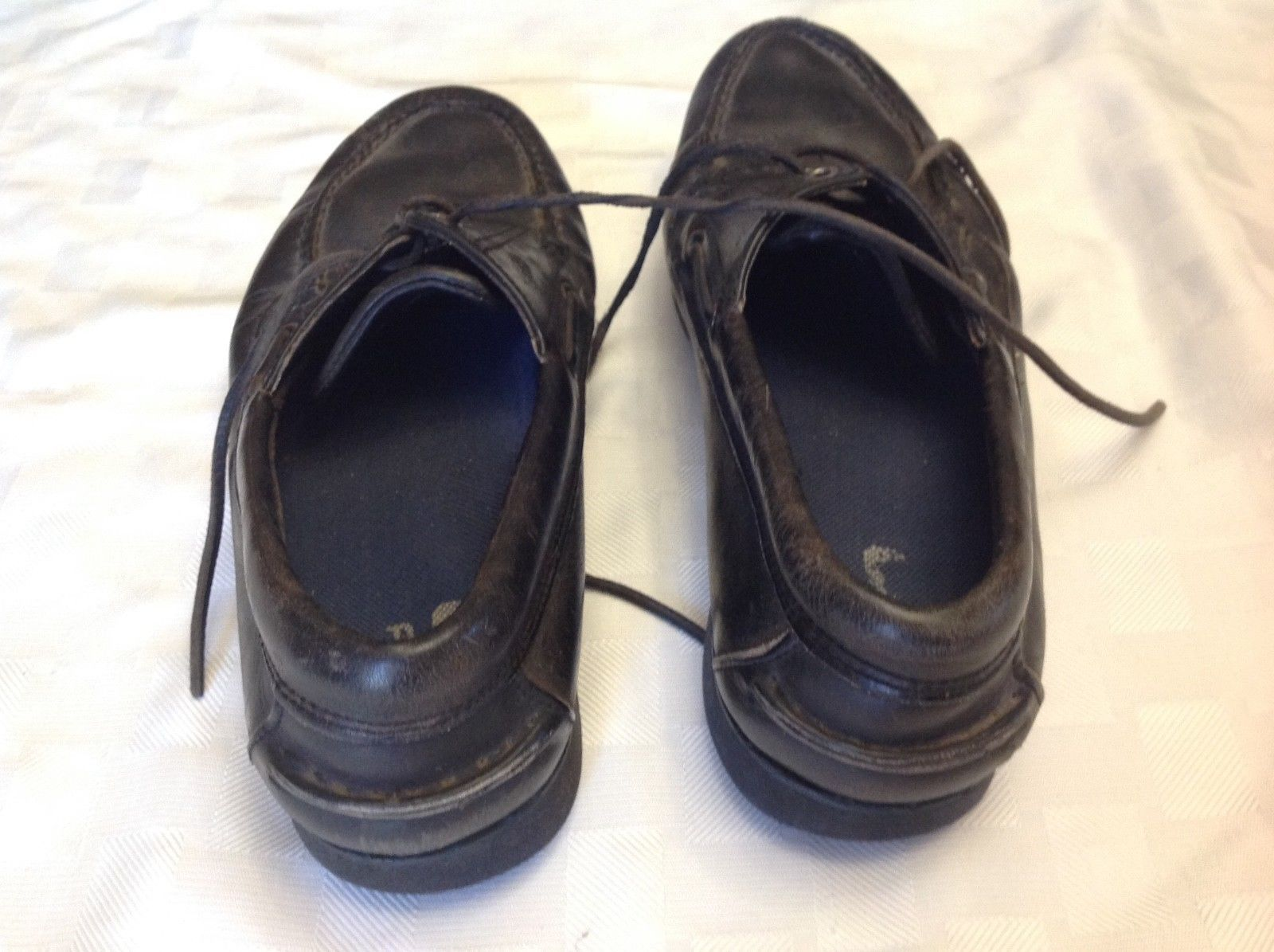 sports shoes 09a07 b86a1 Vintage Nike Air Black Eddie Bauer Casual Loafers Size 13