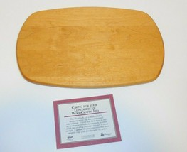 Longaberger Woodcrafts LID ONLY Small Chore 50431 New - $24.74