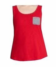 Chaps by Ralph Lauren Womens Plus 2XL 18W-20W Striped Pocket Sleeveless ... - $29.99