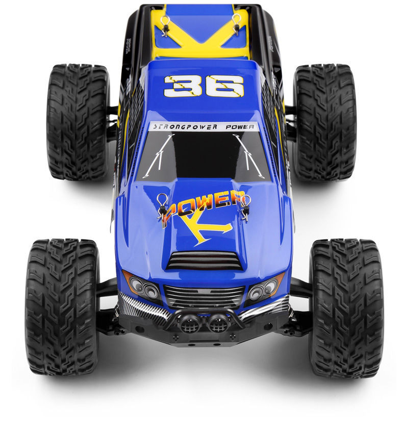 1:12 Scale RC Monster Truck - 2.4 GHz 2 WD High Speed 35KM/H RTR Amazing Truck. for sale  USA