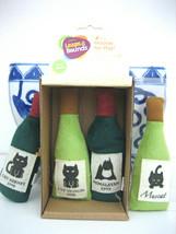 Leaps & Bounds 4 Wine Bottles Catnip Cat Toy - $12.86