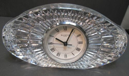 Primary image for Signed Waterford crystal large oval clock