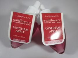 2 Bath & Body Works Wallflower Diffuser Refill Bulb  Gingham Apple - $19.99