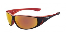 b750bbf1b469 Bolle Highwood Sunglasses - 12023 - Matte Black/Red Frame w/ Polarized F.
