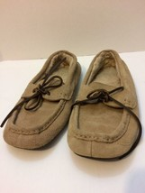 High Country Slippers Size 7/8 Brown/Tan - $15.21 CAD