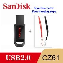 SanDisk CZ61 USB Flash Drive 16GB Pen Drive USB 2.0 Memory stick USB disk USB  - $8.99