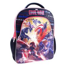 NWT Marvel Captain America Civil War with LED Lights School Bag Travel Backpack - $34.99