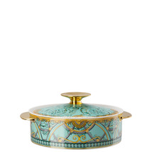 Versace by Rosenthal Scala Palazzo Verde Covered vegetable bowl - $915.70
