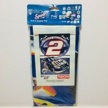 "NASCAR Rusty Wallace #2 Miller Lite VERTICAL FLAG 27""x 41"" WINCRAFT New  - $9.50"