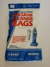 Hoover Vacuum Cleaner Bags Fits Royal Dirt Devil Upright Using Bag C New Sealed  - $6.43