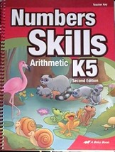 Numbers Skills K5: Arithmetic, 2nd Edition Teacher's Edition [Spiral-bou... - $33.33