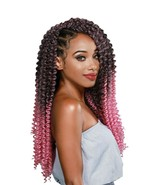 """Zury Pre-Stretched Synthetic Crochet Braid Hair 3X Value Pack 20"""" - WATE... - $9.99"""
