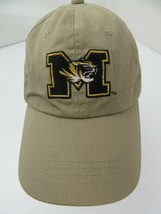Mizzou Missouri Tigers Khaki Adjustable Adult Cap Hat - $12.86