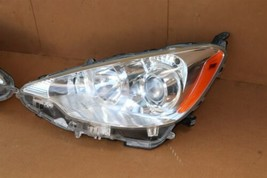 "12-15 Toyota Prius ""C"" NHP10 Headlight Head Light Lamps Set Pair L&R POLISHED image 2"
