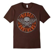 BB--Go Hard Go Diesel Skull Cross Wrench T-Shirt Men - $19.95+