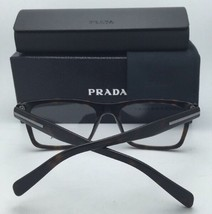 New PRADA Rx-able Eyeglasses VPR 06R 1AB-1O1 55-18 145 Black Frame w/ Clear - $269.95