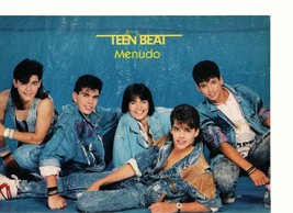 Menudo Jonathan Ward teen magazine pinup clipping laying on the floor Te... - $3.50