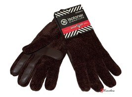 Isotoner Signature Women's Gloves Soft Chenille Knit Brown SmarTouch Cas... - $36.00