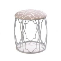 Outdoor Garden Stool, Moroccan Wish Round Portable Decorative Backless S... - $97.41