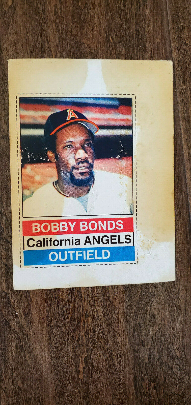 Primary image for 1976 HOSTESS TWINKIES FULL UNCUT CARD BOBBY BONDS ANGELS GIANTS YANKEES CUBS 18