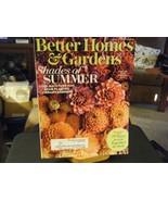 Better Homes & Gardens - Shades of Summer Cover - August 2017 - $5.24
